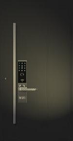 Smarte Tür